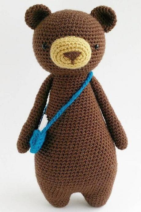 Bear Crochet Amigurumi Pattern