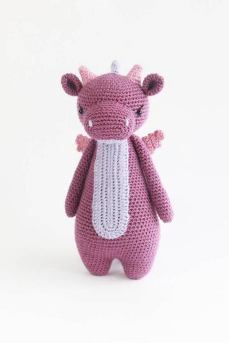Dragon Crochet Amigurumi Pattern