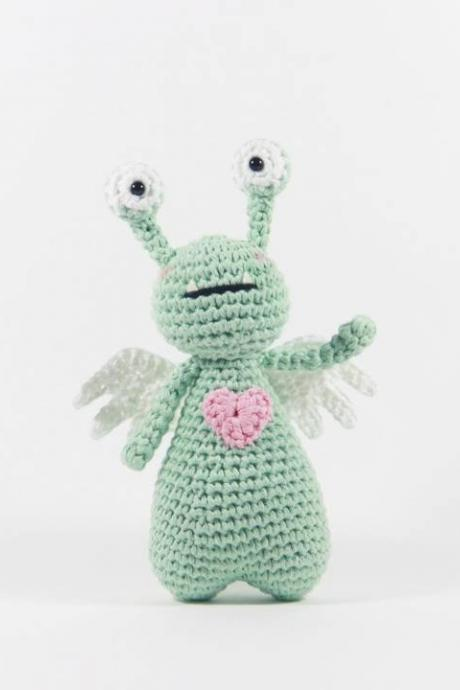 Amor the Monster - Crochet Amigurumi Pattern