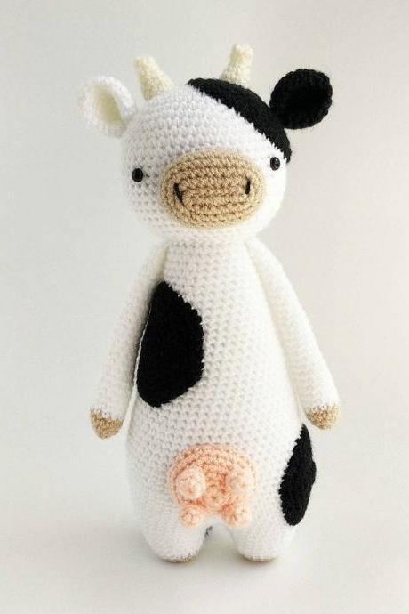 Cow Crochet Amigurumi Pattern