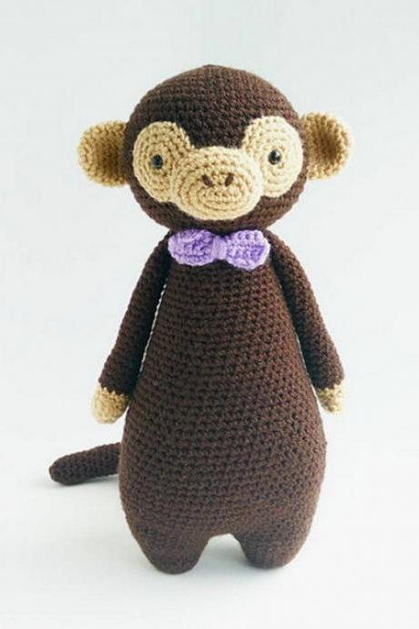 Monkey Crochet Amigurumi Pattern