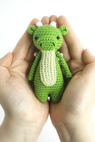 Mini Dragon Crochet Amigurumi Pattern